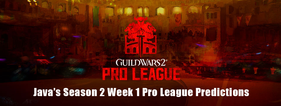 season 2 week 1 pro league predictions